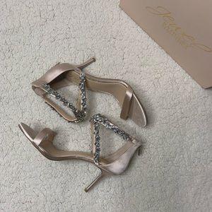 Brand New Jewel Badgley Mischka Sandals